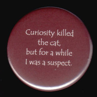 Curiosity And The Button by kohaku16 on Etsy