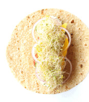 5-Minute Meals: Raw Vegetable Wrap - Free People Blog