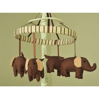 Mod Elephant Nursery Musical Mobile