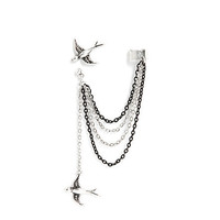 LOVEsick Sparrow Stud And Ear Cuff | Hot Topic
