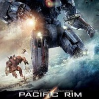 Pacific Rim Original Movie Poster Advance 2nd Style Robots battle in ocean:Amazon:Home & Kitchen