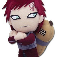 GE Entertainment Naruto Shippuden Plush Toy - 8 Gaara Kazekage (GE-8902)