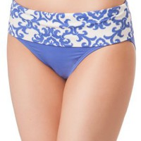 Tommy Bahama Medallion Banded High Waist Bottom