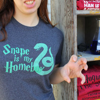 Snape is My Homeboy - Charcoal Grey Small