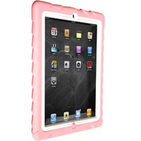 Gumdrop Cases Drop Tech Series Case for Apple iPad 2, Pink-White, (DS-IPAD2-PNK-WHI)