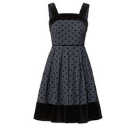 Orla Kiely - Polka Daisy Flock Strappy Dress