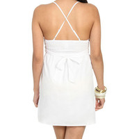 Crochet Trim Baby Doll Dress - Wet Seal