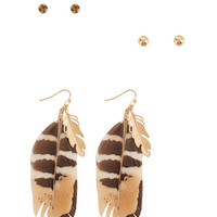 Spirited Earring Set | FOREVER21 - 1000041798