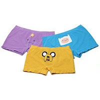 Adventure Time Seamless Boyshorts 3-pack