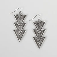 Daytrip Layered Triangle Earring - Women's Accessories | Buckle