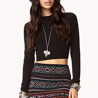 Turtleneck Crop Top | FOREVER 21 - 2002246398