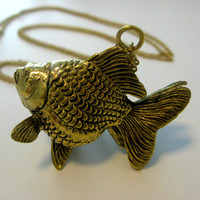 That's Pretty - Jewellery — Goldfish Necklace