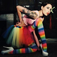 Over the Rainbow extra poofy tutu dance skirt Adult --You Choose Size | SistersOftheMoon - Clothing on ArtFire