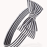Striped Bow Headwrap | FOREVER21 - 1005757726