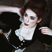 Victoriana jacket by NaturallyBohemian on Etsy