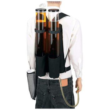 Wyndham House Double Beverage Dispenser Backpack STADIUM DRINK CARRIER