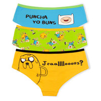 Adventure Time Panties 3-pack
