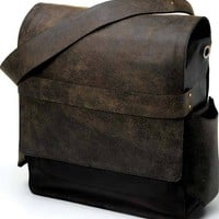 Petunia Pickle Bottom Bags and Clutches Rubicon Rucksack - Black Buffalo Leather Pattern - Outlet Item (Condition: Opened box) - Outlet Item (Condition: Opened box)