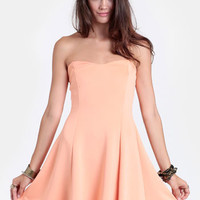 Sunkissed Beauty Strapless Dress