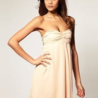 ASOS | ASOS Dress with Tie Back Chiffon Drape at ASOS