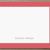 Bold Border Business Stationery Cards by Carrie ON... at Minted.com