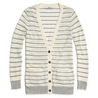 Pocket Cardigan in Stripe - cardigans - Women's SWEATERS - Madewell