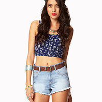 Prairie Doll Denim Cut-Offs