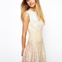 Gloss Sequin Mini Dress