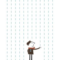 It's raining Jr. by blancucha on Etsy