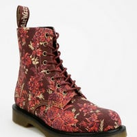 Urban Outfitters - Dr. Martens Beckett Floral Canvas 8-Eye Boot