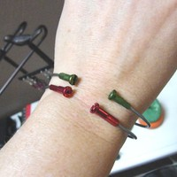 Bicycle Spoke Bangle Bracelet