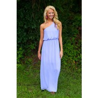 Gorgeous On My Mind Maxi-Lavender