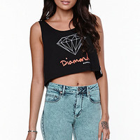 Diamond Supply Co Script Cropped Tank at PacSun.com