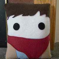 Merlin  pillow,  BBC Merlin inspired decorative pillow
