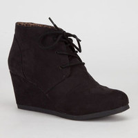 CITY CLASSIFIED Rex Womens Boots