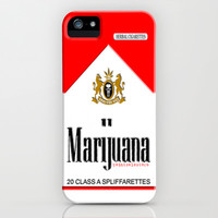 Marijuana Strong herbal cigarettes Red Pack iPhone & iPod Case by pointsalestore