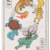 'I Choose You' Woodblock Print (Delivery Date: October 2013) | Ukiyo-e Heroes