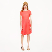 Pleated silk pocket dress - dresses & skirts - Women's vacation shop - J.Crew