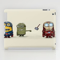 Minion Avengers iPad Case by CforCel