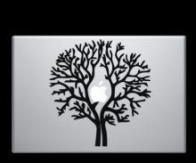 Apple Tree - Macbook Laptop Decal Sticker - Graefiks