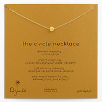 Dogeared 'Reminder - The Circle' Pendant Necklace | Nordstrom