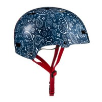 FEED for Target Bike Helmet - Blue Paisley