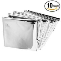 Emergency Mylar Thermal Blankets (Pack of 10):Amazon:Industrial & Scientific