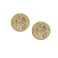 Limited Edition Big Coin Earrings at asos.com