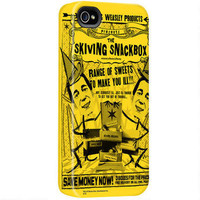 Weasley and Weasley Skiving Snackbox iPhone Case |