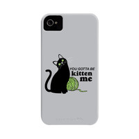You Gotta Be Kitten Me Phone Case | SnorgTees