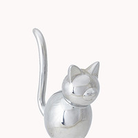 Metal Cat Jewelry Holder | FOREVER 21 - 1061673156