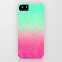*** SUNNY MELON *** Watercolour fading iPhone & iPod Case by Monika Strigel for iphone 5 + 4 + 3 + ipod touch + Sasmsung Galaxy !!!
