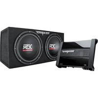 MTX TNP212D2 Dual 12 Subwoofer And Amplifier