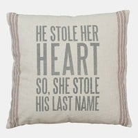 Primitives by Kathy 'So She Stole His Last Name' Pillow | Nordstrom
